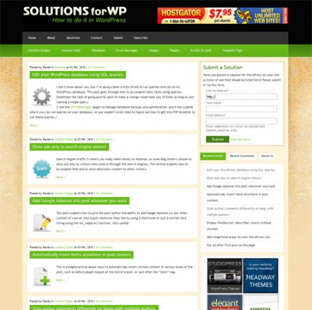 solutionsforwp
