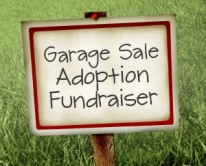 adoption garage sale