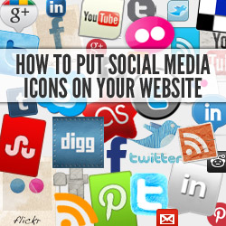How To Put Social Media Icons On Your Website